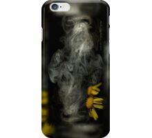 Optimisticly Dense Daisies © Vicki FerrarI iPhone Case/Skin