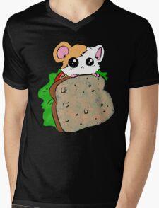 Hammy Sammy Mens V-Neck T-Shirt