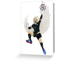 Tim Howard an American Treasure Greeting Card