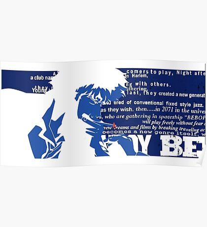 Spike Cowboy bebop Poster