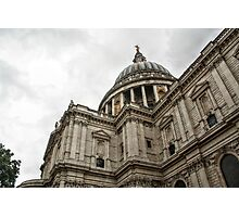 Dome of St Paul's Cathedral Photographic Print