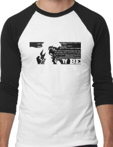 Spike Cowboy bebop Black Men's Baseball ¾ T-Shirt