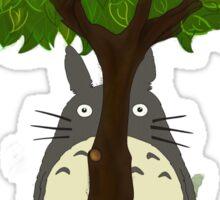 Totoro & Mei play Hide & Seek. Sticker