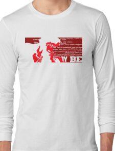 Spike Cowboy bebop Red Long Sleeve T-Shirt