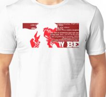 Spike Cowboy bebop Red Unisex T-Shirt