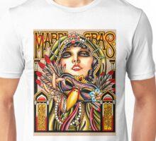 """MARDI GRAS"" New Orleans Art Deco Print Unisex T-Shirt"