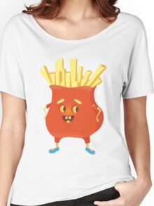 Happy French Fries Women's Relaxed Fit T-Shirt