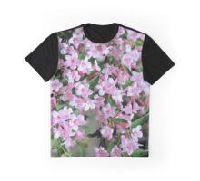 Cascade of Pink Weigela Graphic T-Shirt