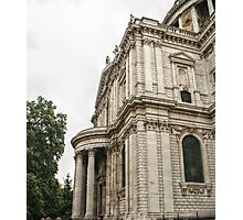 Side View of the North Entrance of St Paul's Photographic Print
