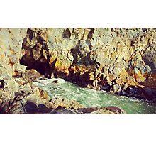 sea cave Photographic Print