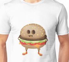Happy Hamburger Unisex T-Shirt