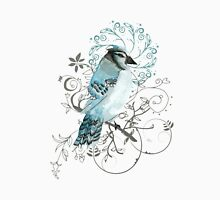 Blue Jay Bird Watercolor  Unisex T-Shirt