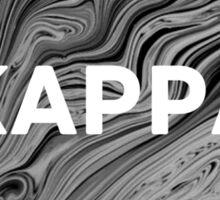 kappa marble print Sticker