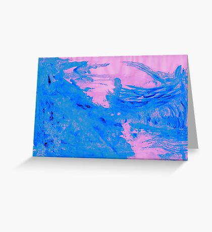 Remote Wave Greeting Card