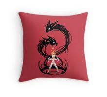 Fox Summoner Throw Pillow