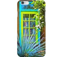 Blue/Green Window iPhone Case/Skin