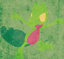 Treecko by jehuty23
