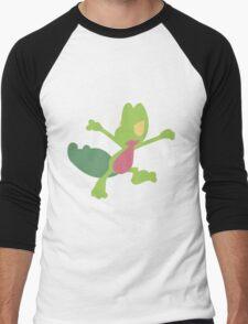 Treecko Men's Baseball ¾ T-Shirt
