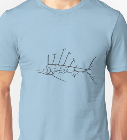 Skinless Sailfish  Unisex T-Shirt