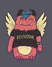 Monster Rockstar by Jacquelyne Drainville