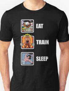 Eat, Train, Sleep (Deadlift) Unisex T-Shirt