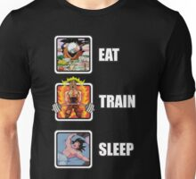 Eat, Train, Sleep (Deadlift) Unisex T-Shirt