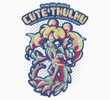 Cute'thulhu - (Sailormoon x Cthulhu Mashup) T-Shirt
