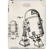 Star Wars R2D2 Droid US Patent Art iPad Case/Skin