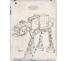 Star Wars AT-AT Imperial Walker US Patent Art iPad Case/Skin