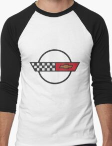 Corvette C4 Men's Baseball ¾ T-Shirt