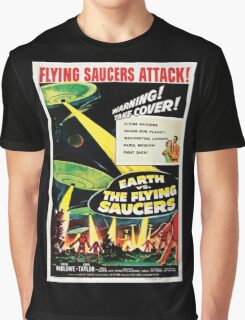Earth vs. The Flying Saucers Graphic T-Shirt