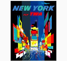 """TWA FLY TO NEW YORK"" Art Deco Print Unisex T-Shirt"