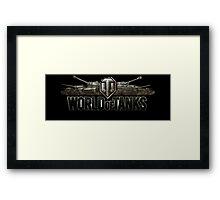 World Of Tanks Framed Print