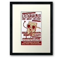 Summertime Battle of the Bands Framed Print