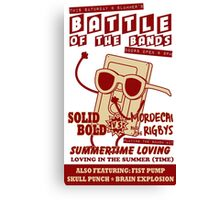 Summertime Battle of the Bands Canvas Print