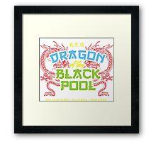 Dragon of the Black Pool Framed Print