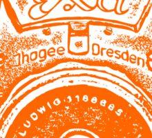 Giant East German Camera - Orange Sticker