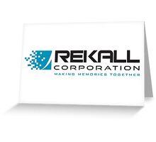 Rekall Corporation Greeting Card