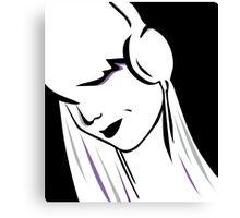 Headphone Vector. Canvas Print