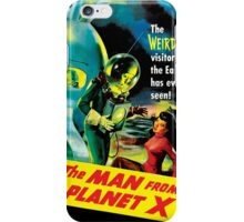The Man From Planet X iPhone Case/Skin