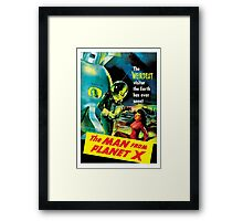 The Man From Planet X Framed Print