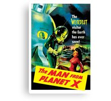 The Man From Planet X Canvas Print