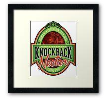 Knockback Nectar Framed Print