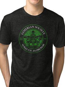Gozerian Society - Green Slime Variant Tri-blend T-Shirt