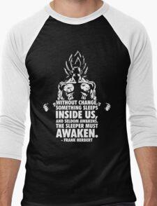 Awaken Men's Baseball ¾ T-Shirt