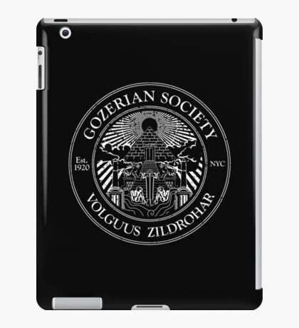 Gozerian Society iPad Case/Skin
