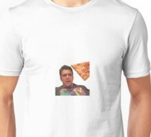 James franco pizza Unisex T-Shirt