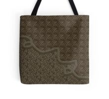 Brown abstract patterns Tote Bag