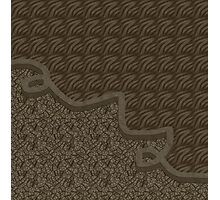 Brown abstract patterns Photographic Print