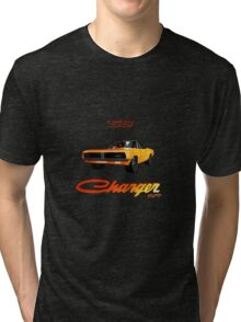 69 Charger RT Orange (Variant) Tri-blend T-Shirt